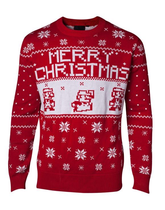 Nintendo Super Mario Red Sweater XXL