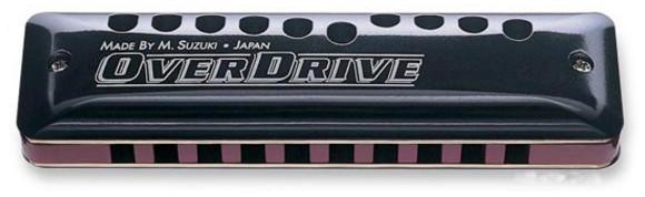 Suzuki - MR-300 Overdrive - Diatonic Harmonica (C)