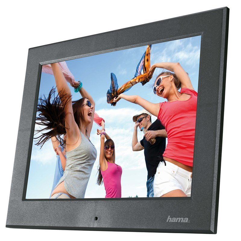 "Hama - Basic 8"" Slim Digital Photo Frame"