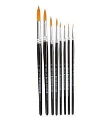 Gold Line Brushes - 8 Stk (10747)