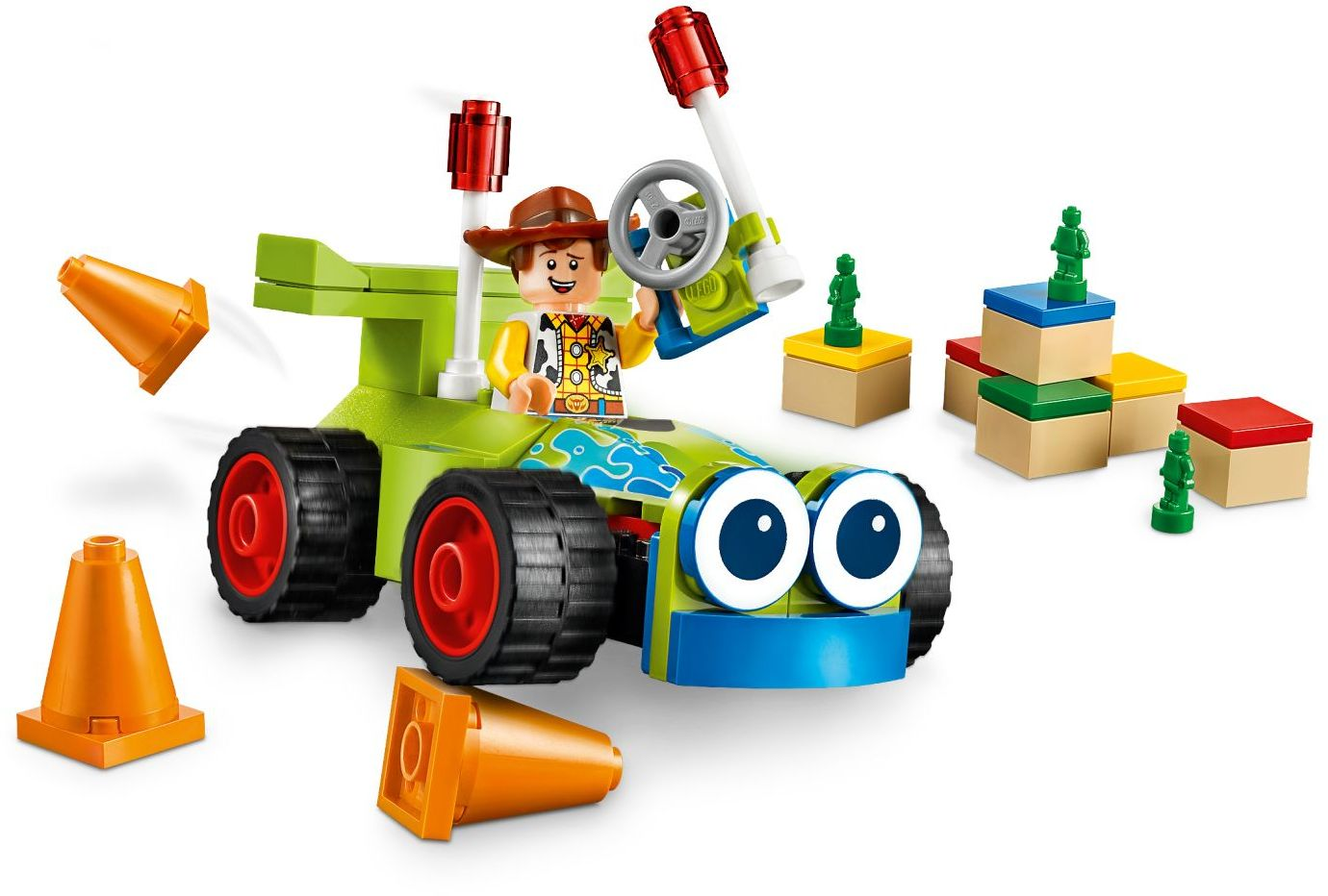 LEGO Disney - Toy Story 4 Woody & Turbo (10766)