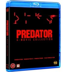 Predator collection 1-4 -DVD