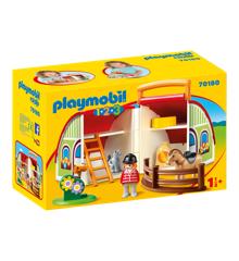 Playmobil  1.2.3 - My Take Along Farm (70180)