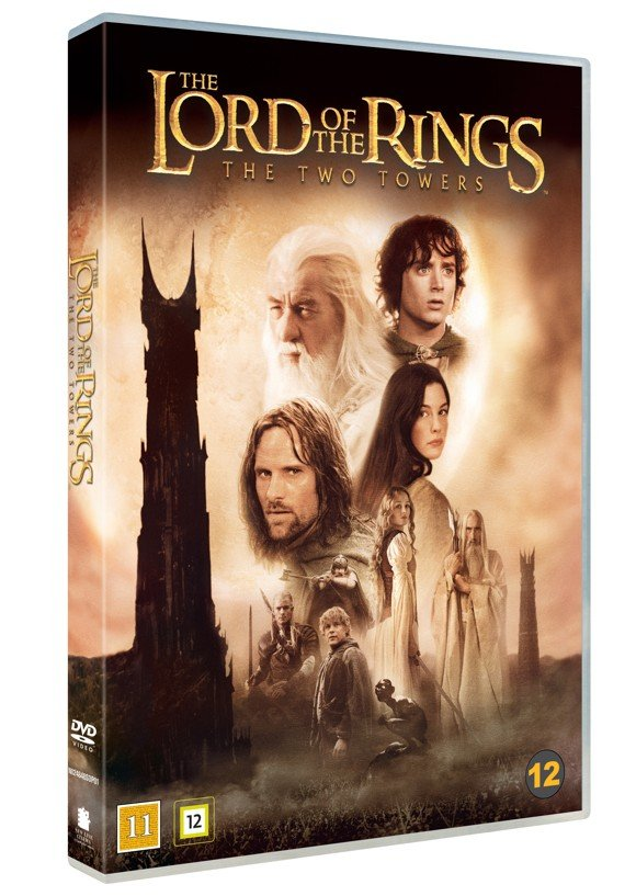 Lord of the rings 2 - the two towers (theatrical cut) -DVD