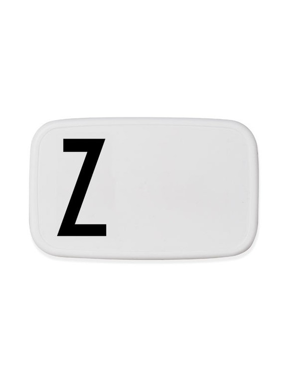 Design Letters - Personal Lunch Box - Z