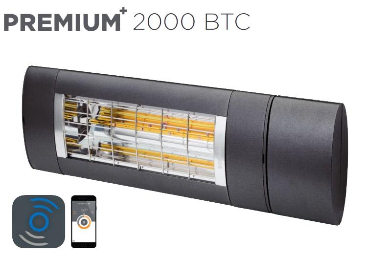 Solamagic - 2000 Premium BTC Patio Heater - Antracite - 5 Years Warranty