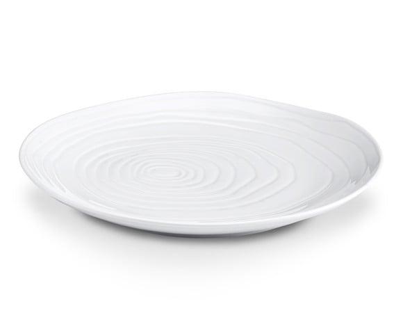 Pillivuyt - Boulogne Plate Flat Ø 28 cm - White (213028)