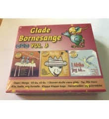 Glade Børnesange vol 3 - 3 CD
