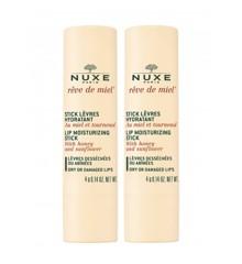 Nuxe - 2x Rêve de Miel Lip Moisturizing Stick Læbepomade 4 gr.