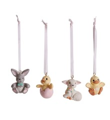 Klarborgnisser - Easter Animal Set Of 4 (93471)
