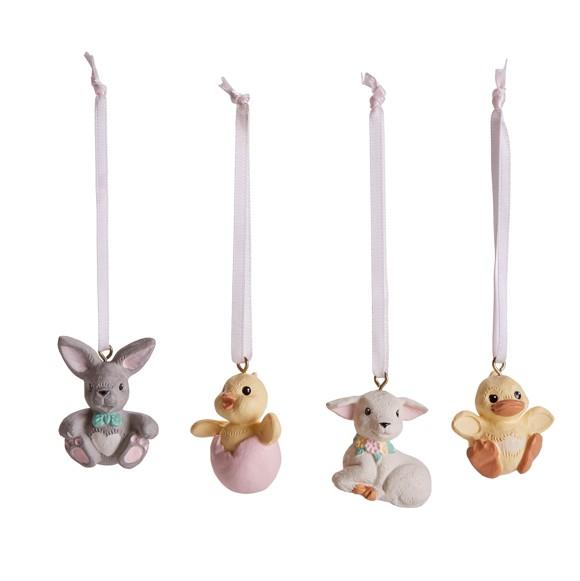 Klarborgnisser - Easter Animal Set Of 4 (93471)