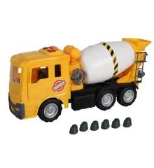 Motorshop - Kæmpe Cement Lastbil (52 cm)