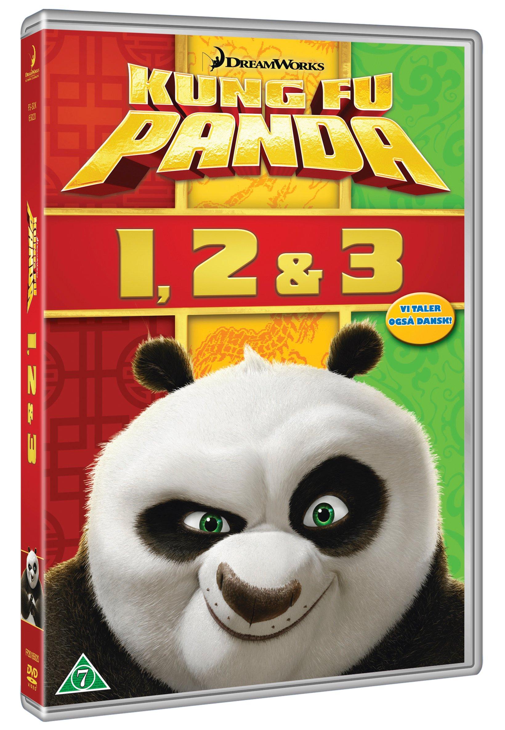 Buy Kung Fu Panda 1-3 Boxset - DVD - Standard - DVD - Incl ...