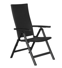 Living Outdoor - Liva Position Havestol Rattan - Sort