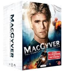 Macgyver Box - Den Komplette Serie + Film (39 disc) - DVD