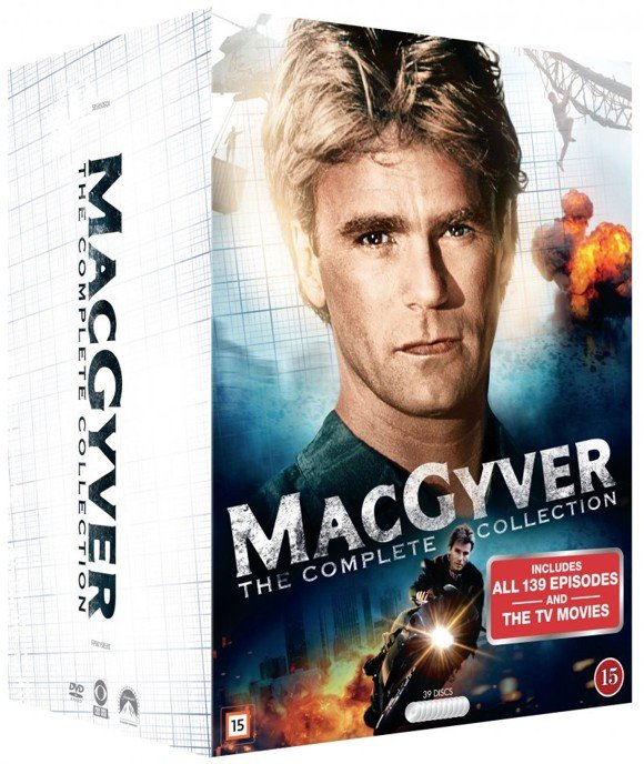 Macgyver: Complete Box - 30th Anniversary (39 disc) - DVD