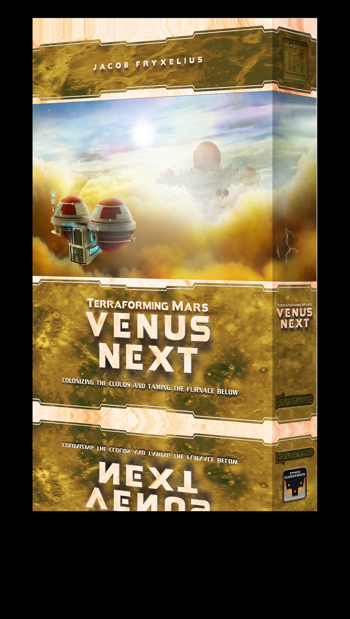 Terraforming Mars: Venus Next (English)