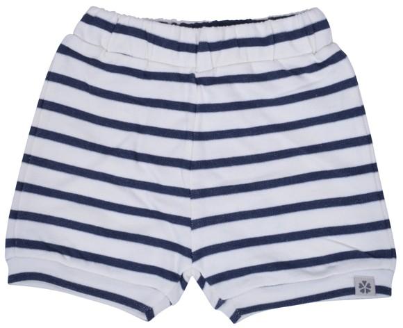 PAPFAR - Striped Sweat Baby Shorts