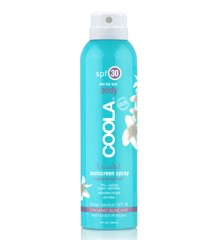 Coola - Sport Continuous Spray SPF 30 - Uparfumeret - 236 ml