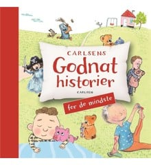 Børnebog -  Carlsens godnathistorier for de mindste