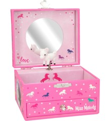 Miss Melody -  Jewelry Case w/Music - Pink (0410894)
