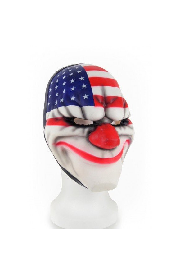 "Payday 2 Face Mask ""Dallas"""