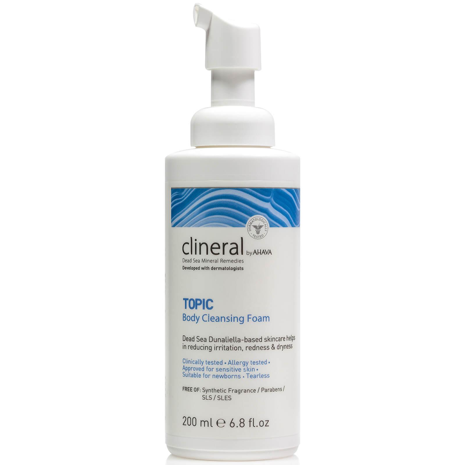 Bilde av Ahava - Clineral Topic Body Cleansing Foam 200 Ml