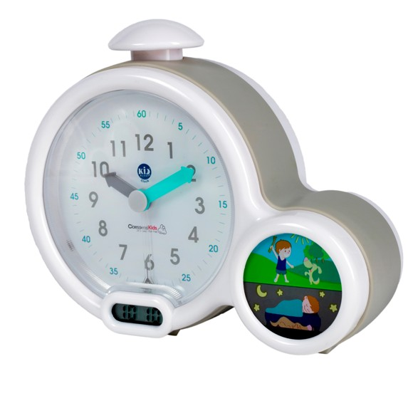 Claessens Kids - Kid'Sleep - Clock - Grey
