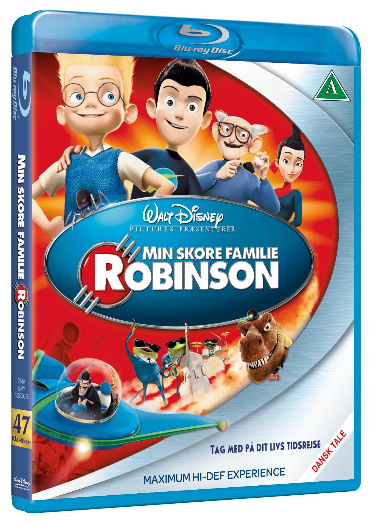 Min skøre familie Robinson Disney classic #47