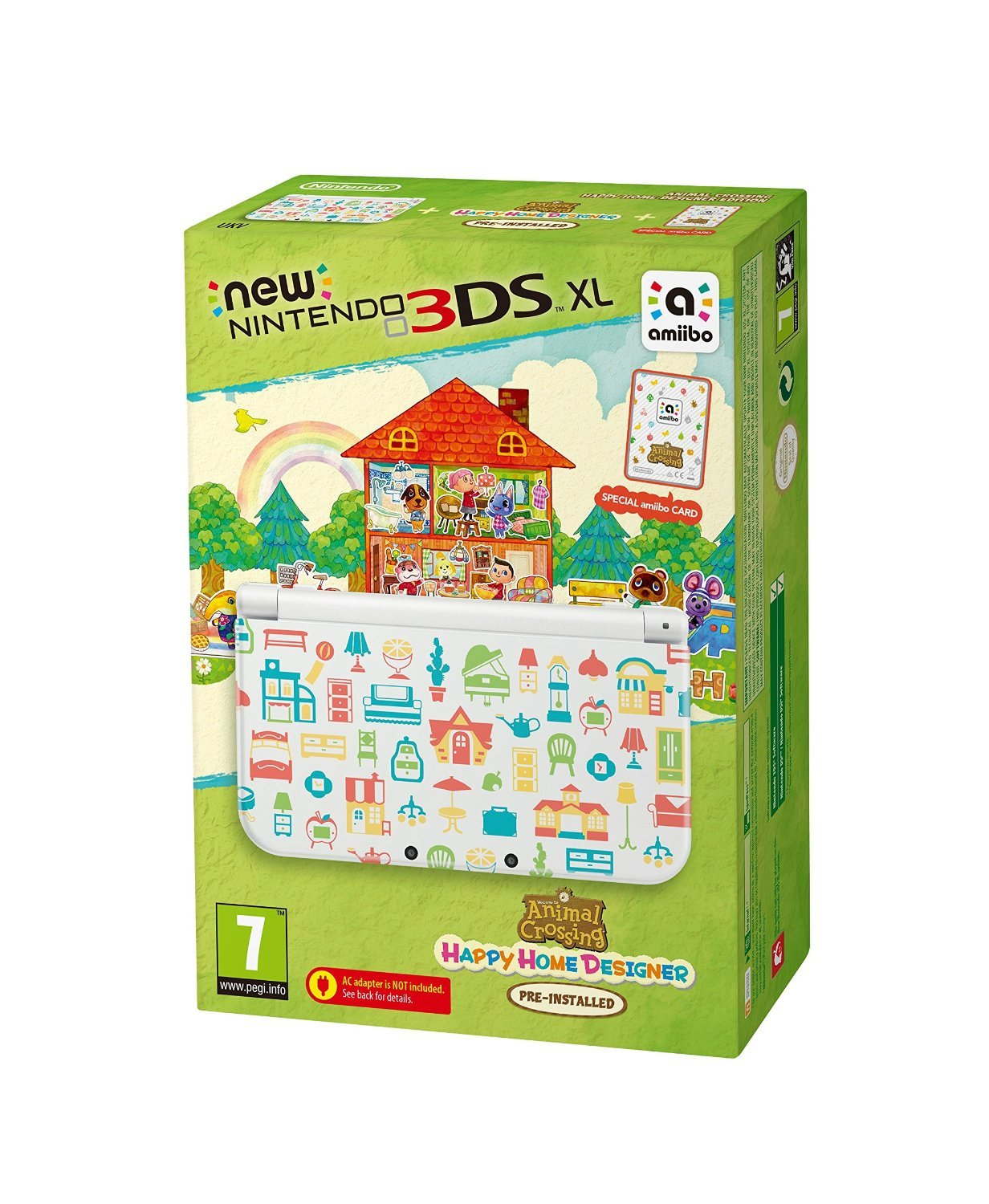 Kaufe New Nintendo 20DS XL Console   Animal Crossing Happy Home ...