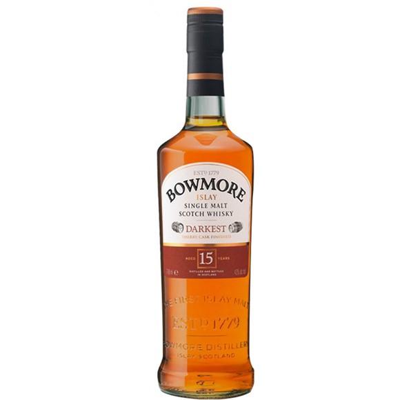 Bowmore - 15 Year Old Darkest Islay Single Malt Whisky, 70 cl