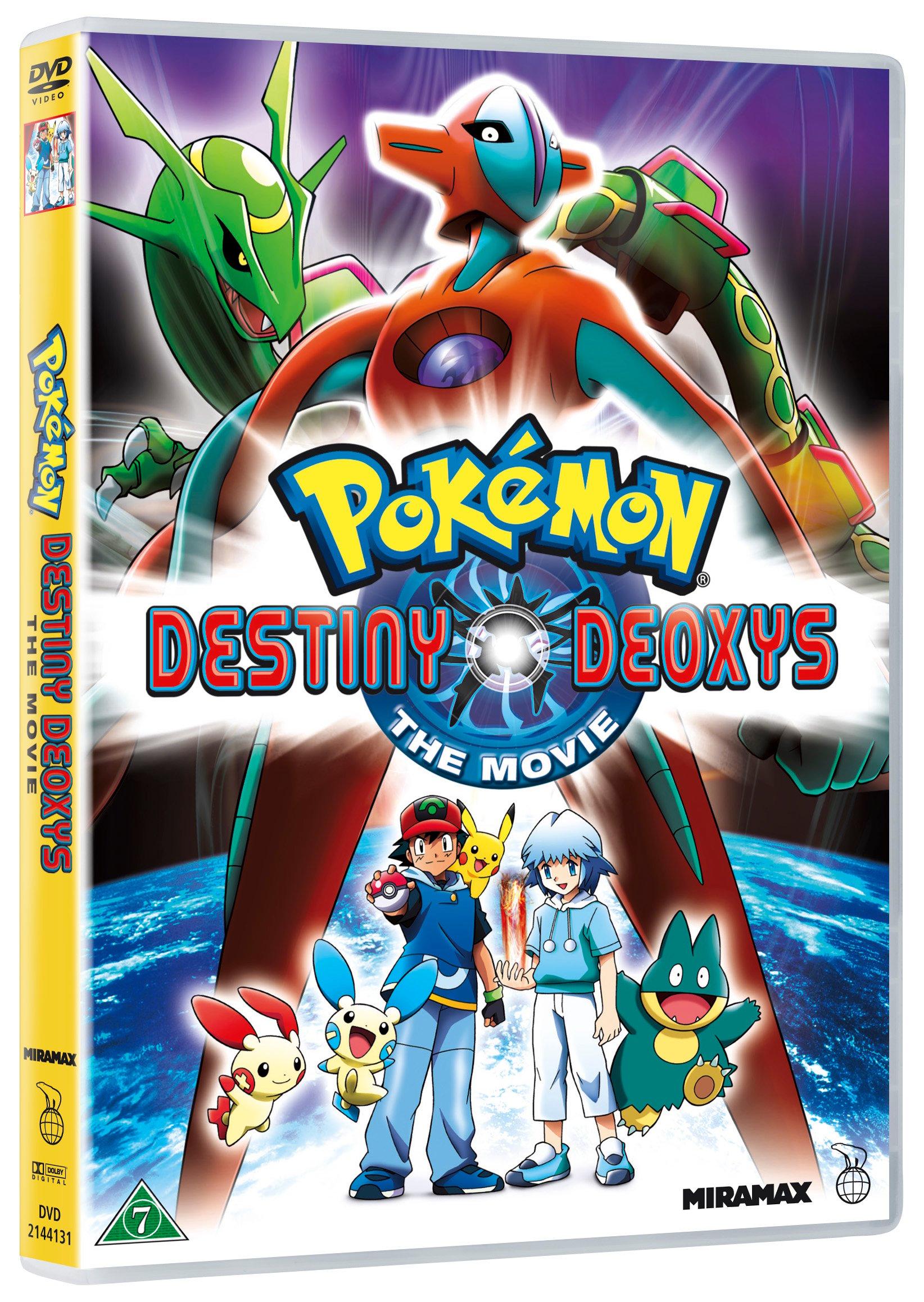 Buy Pokemon Destiny Deoxys The Movie Dvd