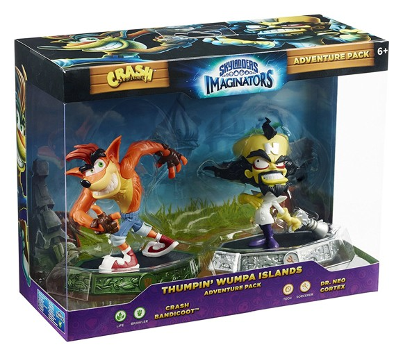 Skylanders Imaginators - Crash Expansion - Crash Bandicoot + Dr. Neo Cortex