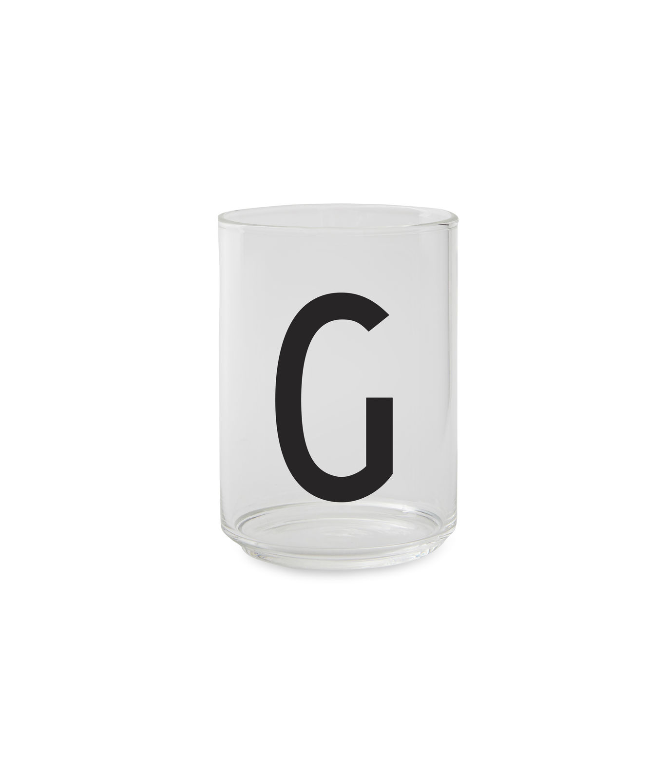 ?Design Letters - Personal Drinking Glass G