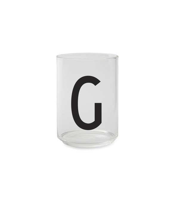 Design Letters - Personal Drinking Glass G