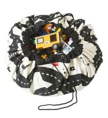 Play&Go - Legetæppe og Opbevarings taske  - Roadmap