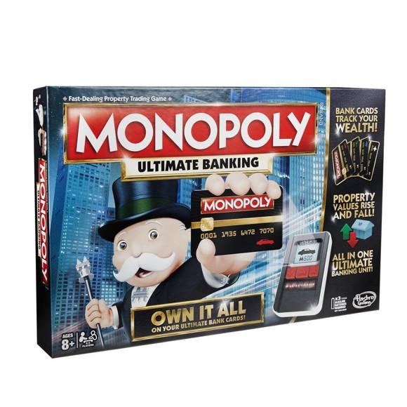 Hasbro Gaming - Monopoly Ultimate Banking DK (B6677)