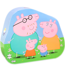 Barbo Toys - Puzzle - Peppa Pig and Family Deco (24 pcs) (8951)