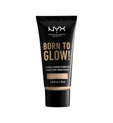 NYX Professional Makeup - Born To Glow Naturally Radiant Foundation - Vanilla