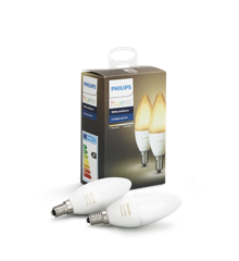 Philips Hue -  E14 2-Pack Bulb - White Ambiance