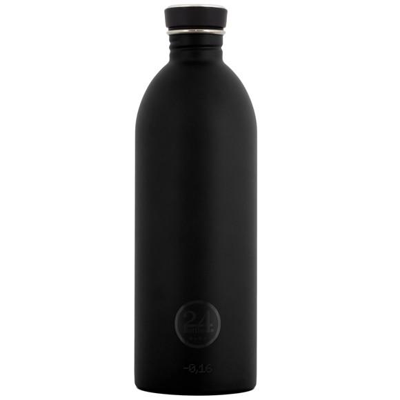 24 Bottles - Urban Bottle 1 L - Tuxedo Sort