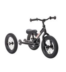 Trybike - 3 hjulet Løbecykel, Sort Sort