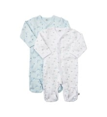 Pippi - Nightsuit w/f 2-pack - buttons