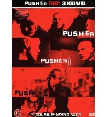 Pusher Trilogien (3-disc) - DVD
