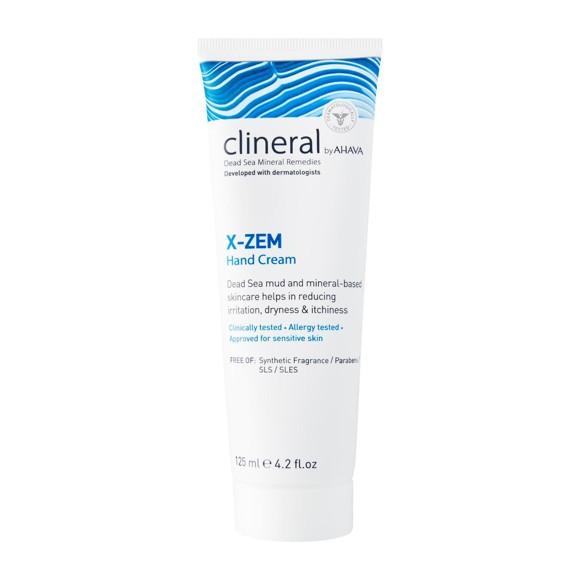 AHAVA - Clineral X-ZEM Hand Cream 125 ml