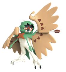 Pokémon - Feature Figur - 11 cm - Decidueye