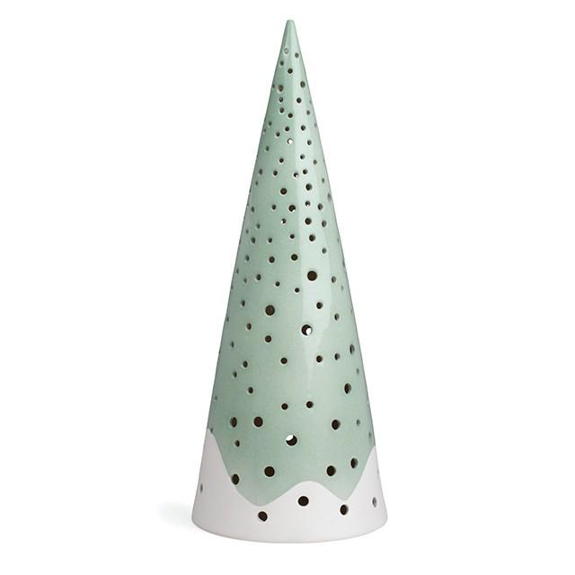 Kähler - Nobili Candle Holder Large - Green (692422)