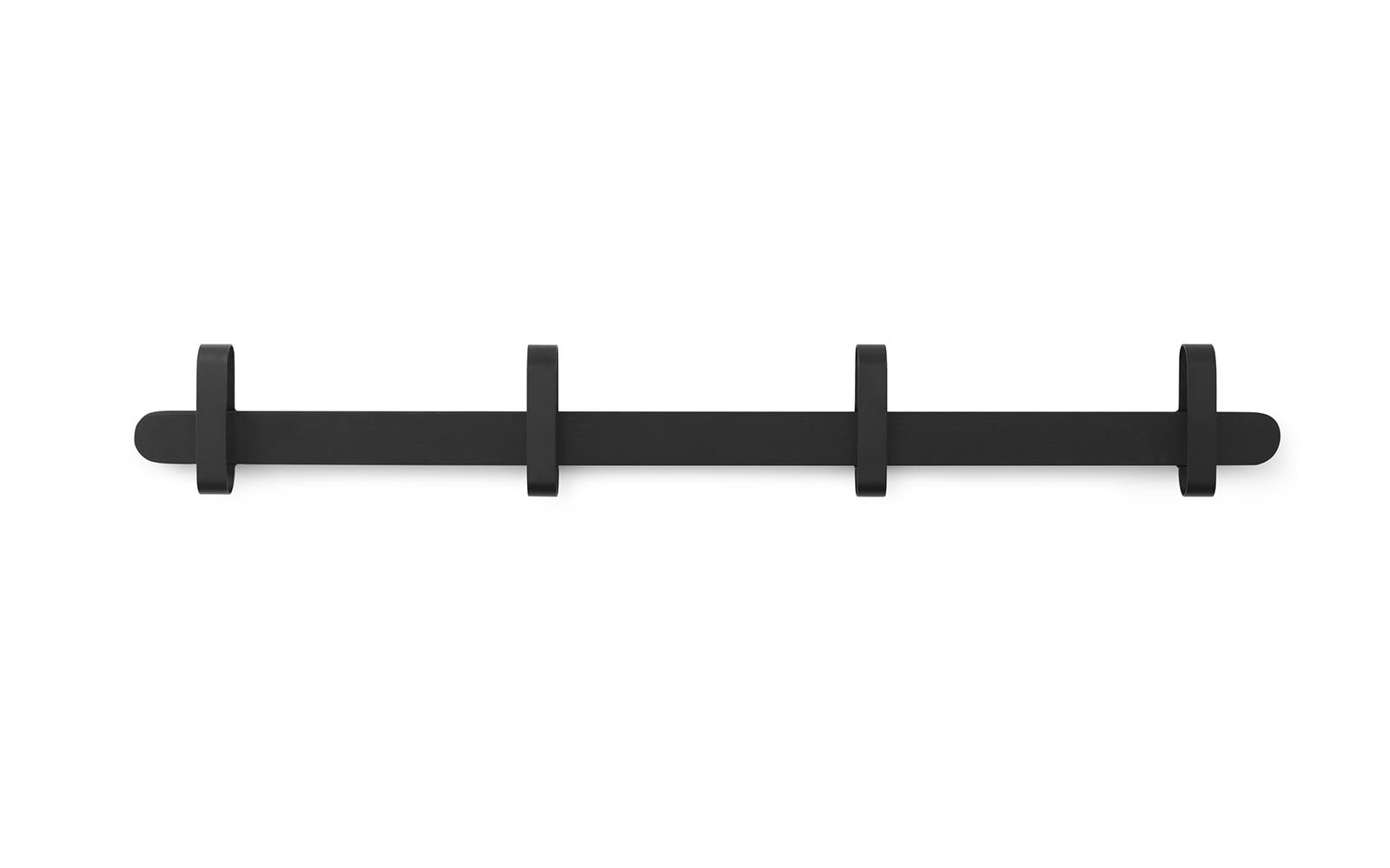 Normann Copenhagen - Hoop Rack - Black (380011)