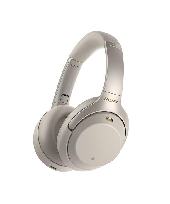 Sony WH-1000XM3 - Trådløse høretelefoner (sølv)
