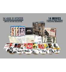 Alfred Hitchcock house collection - Blu ray